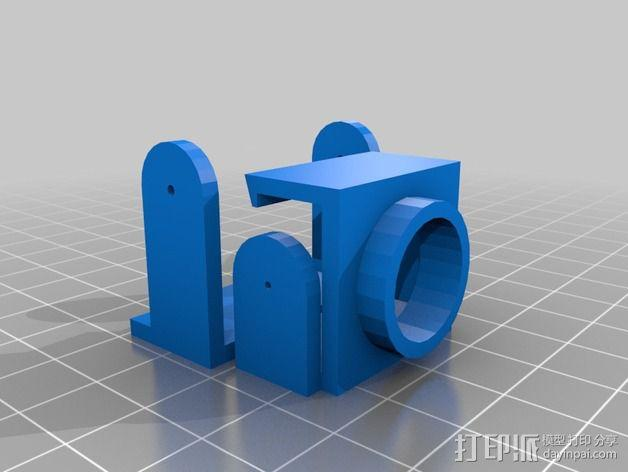 Fatshark CMOS相机支架 3D模型  图3