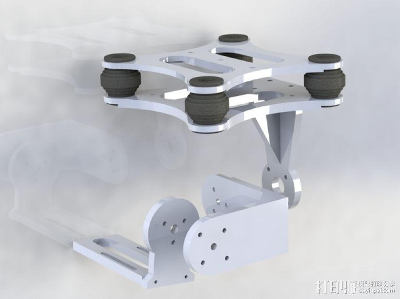 常平架 3D模型  图4