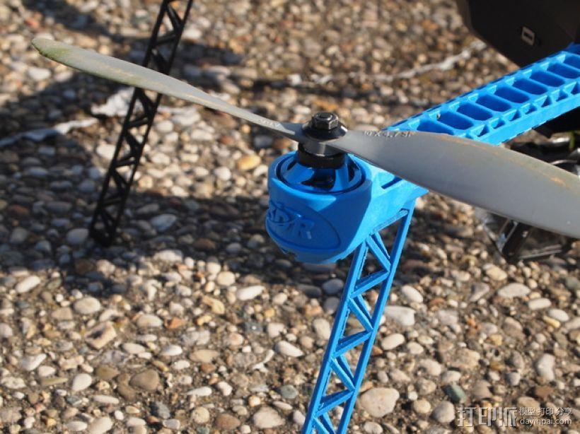 IRIS四轴飞行器支架 3D模型  图1