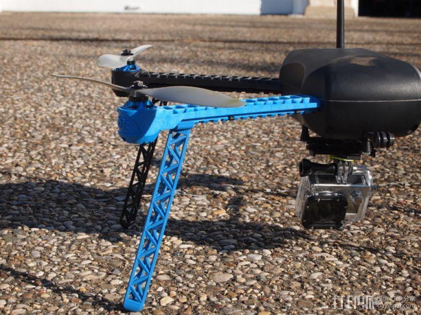 IRIS四轴飞行器支架 3D模型  图5