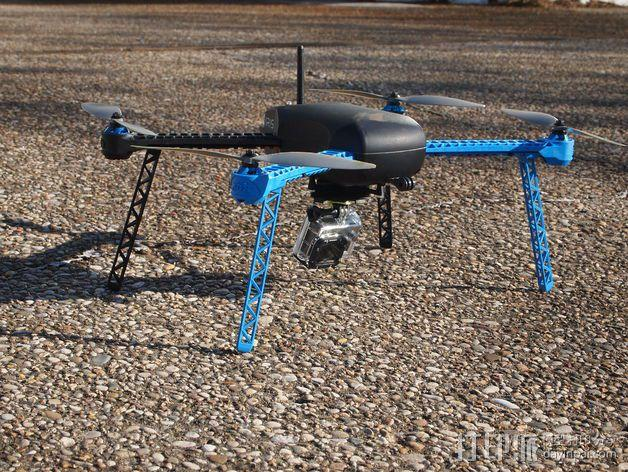 IRIS四轴飞行器支架 3D模型  图6