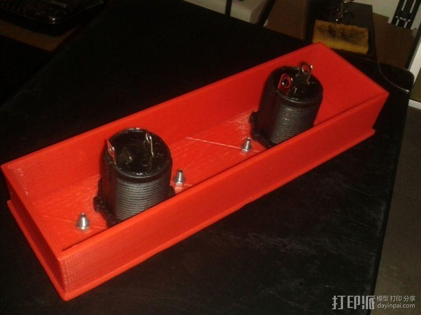 小车音响面板 3D模型  图4