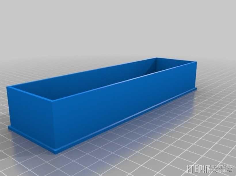小车音响面板 3D模型  图5