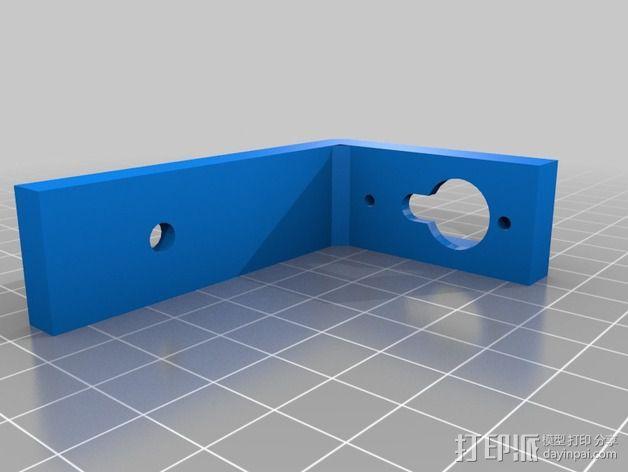 四轴飞行器常平架 3D模型  图3