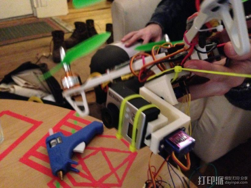 四轴飞行器常平架 3D模型  图6