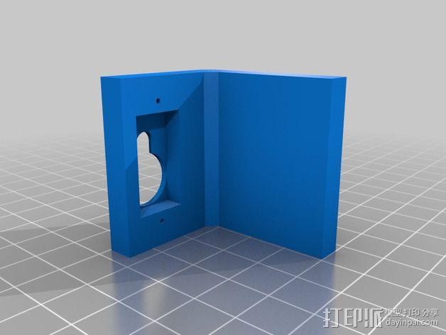 四轴飞行器常平架 3D模型  图4