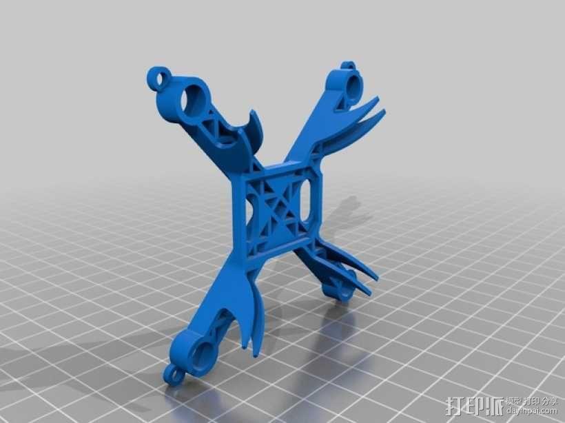 Hubsan X4迷你四轴飞行器框架 3D模型  图2