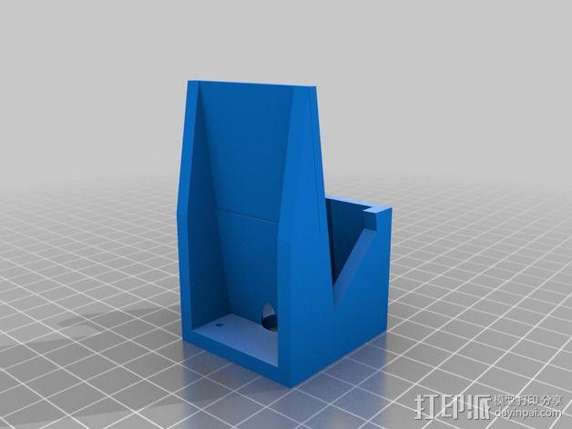 TekSumo发动机架 3D模型  图3