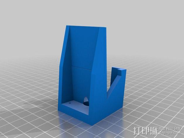 TekSumo发动机架 3D模型  图2