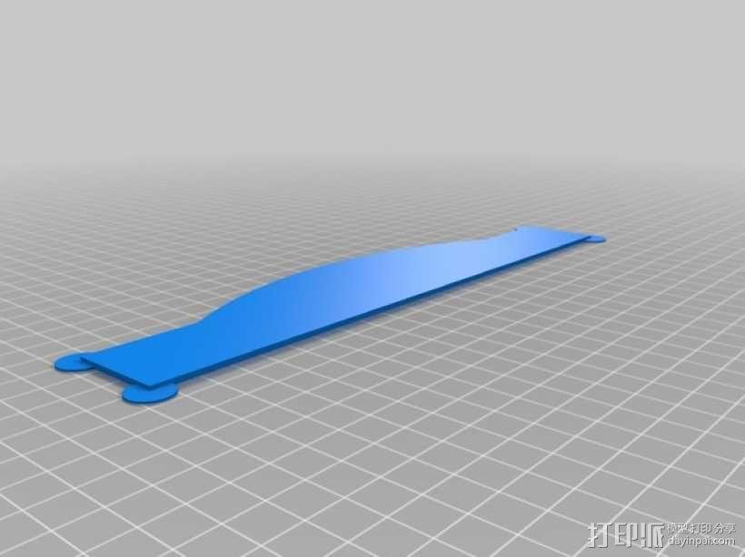 Dell Venue 8 Pro 充电插槽 3D模型  图4