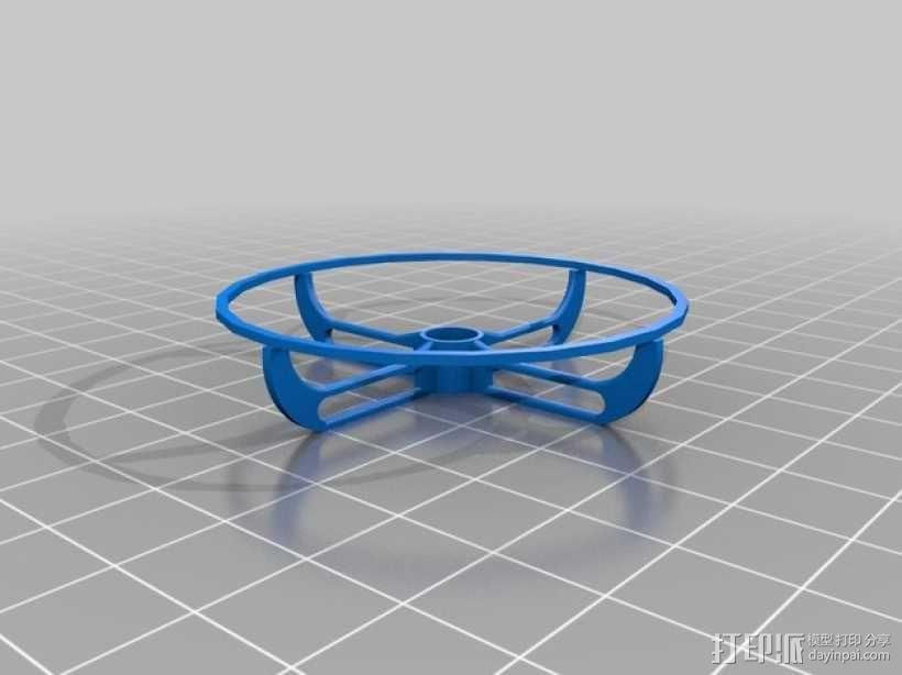 螺旋桨保护器 3D模型  图1