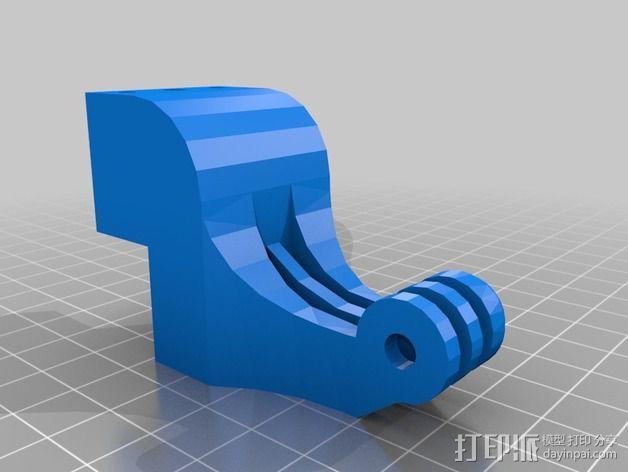 """""""无畏号""""四轴飞行器 3D模型  图6"""