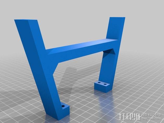 """""""无畏号""""四轴飞行器 3D模型  图5"""