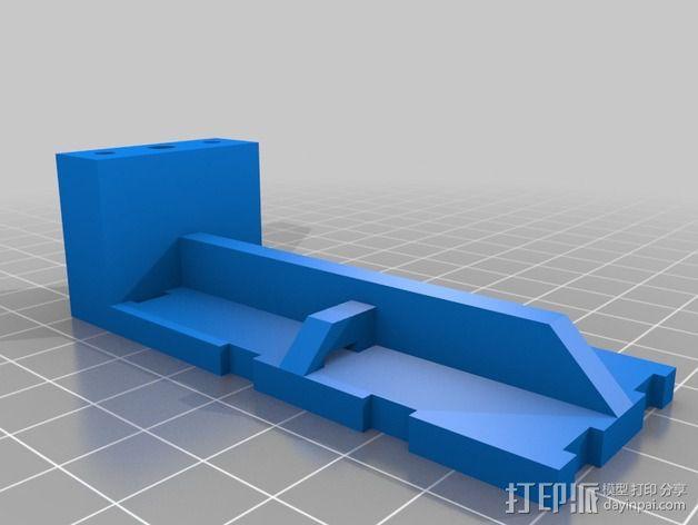 """""""无畏号""""四轴飞行器 3D模型  图9"""