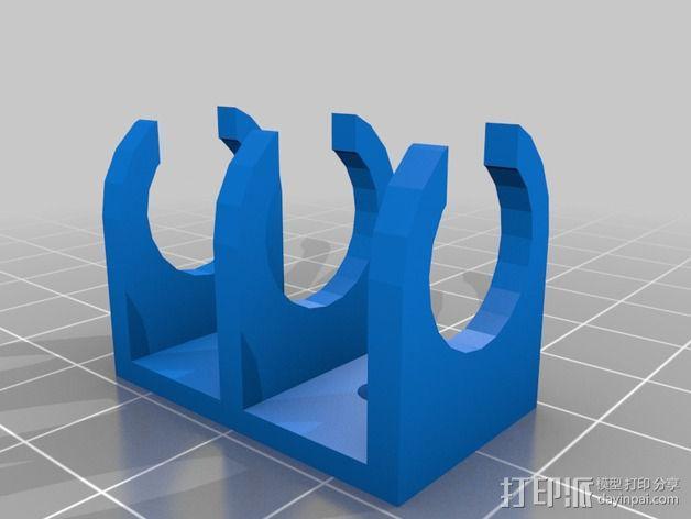 参数化密码锁 3D模型  图4