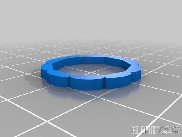参数化密码锁 3D模型  图5