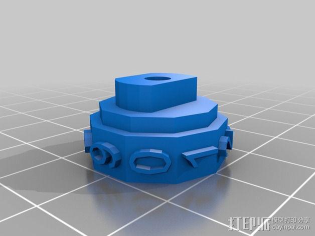 参数化密码锁 3D模型  图7
