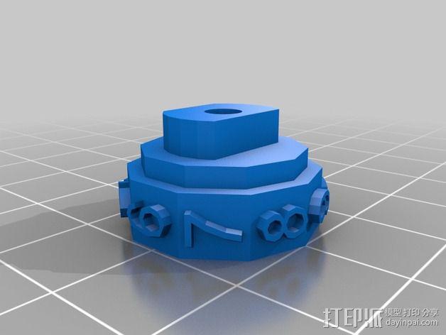 参数化密码锁 3D模型  图6
