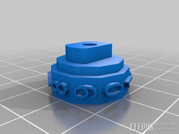 参数化密码锁 3D模型  图8