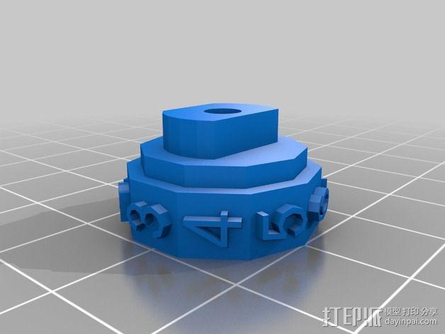 参数化密码锁 3D模型  图10