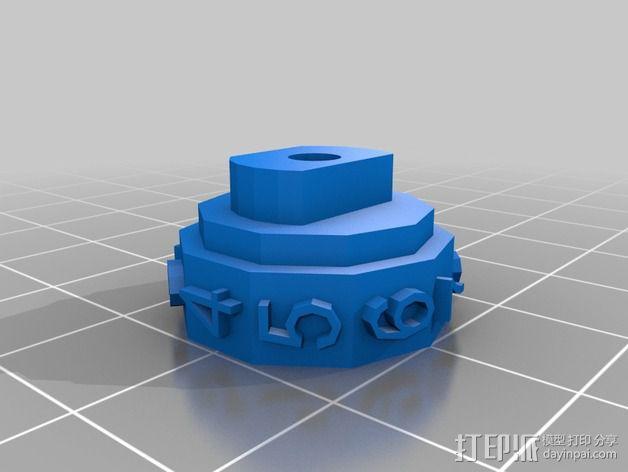 参数化密码锁 3D模型  图12