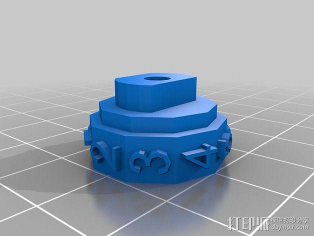 参数化密码锁 3D模型  图13