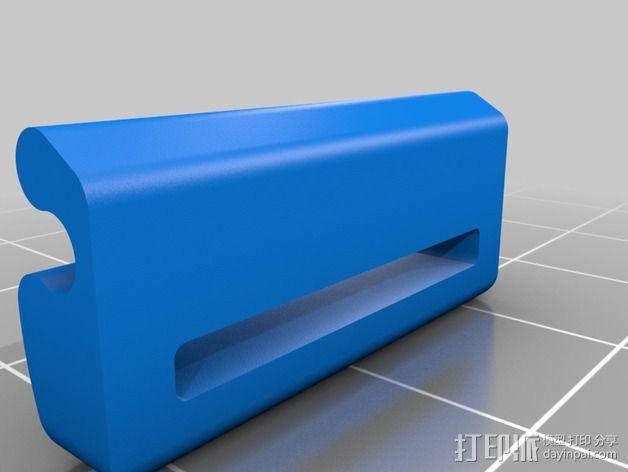 带扣连接器 3D模型  图2