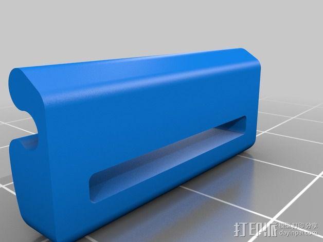 带扣连接器 3D模型  图3