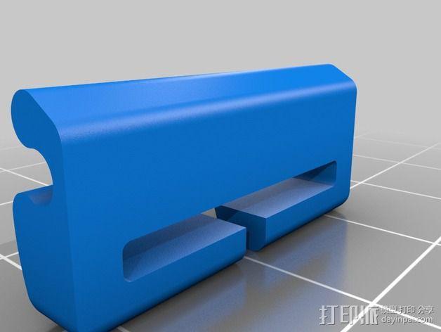 带扣连接器 3D模型  图7