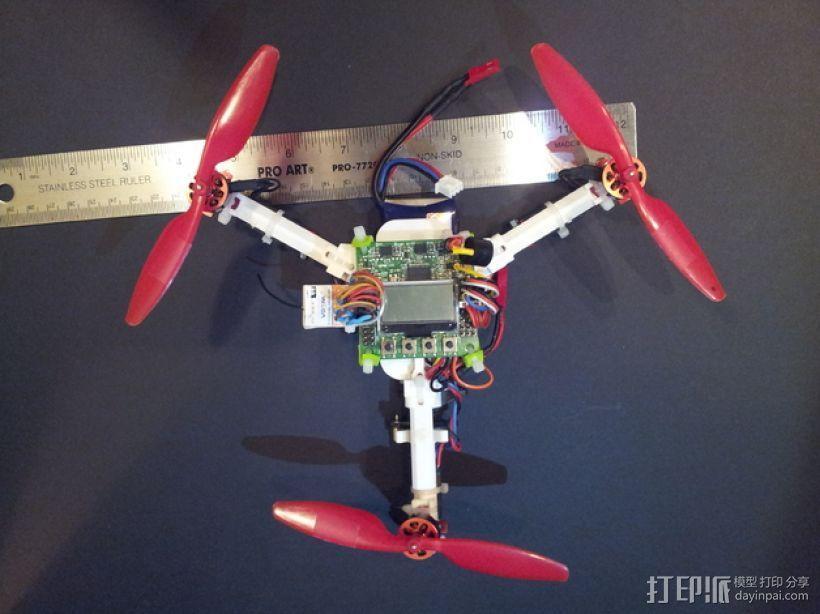 迷你三轴飞行器 3D模型  图1