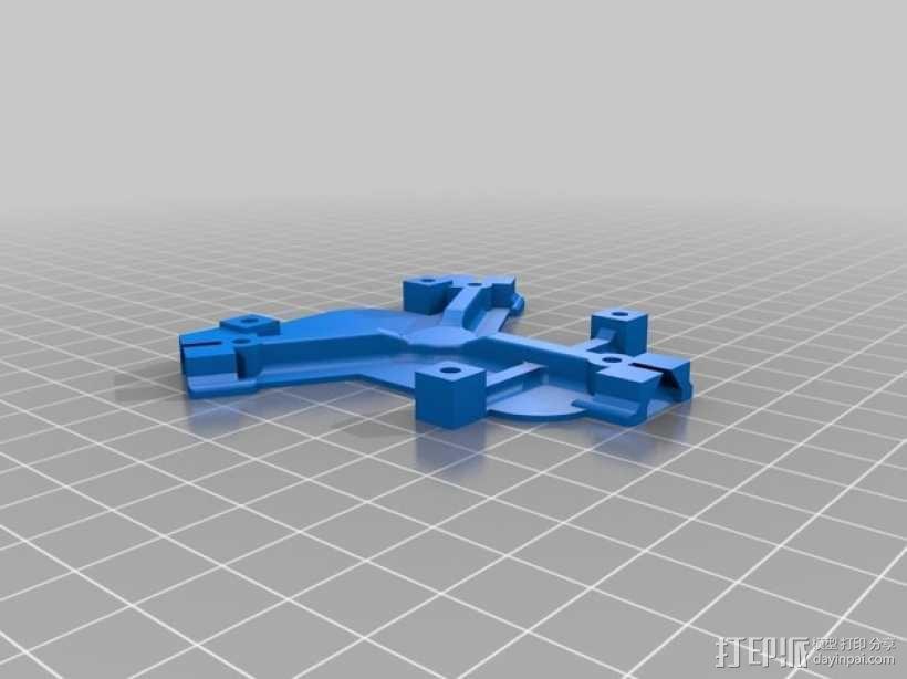 迷你三轴飞行器 3D模型  图3