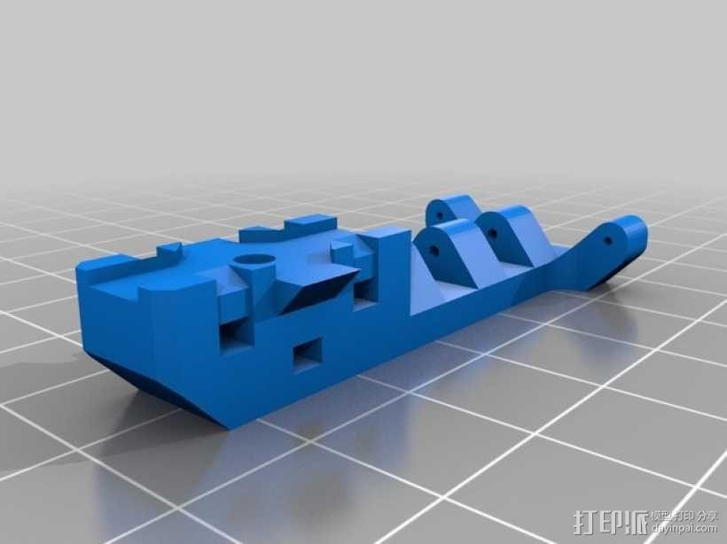 迷你三轴飞行器 3D模型  图4