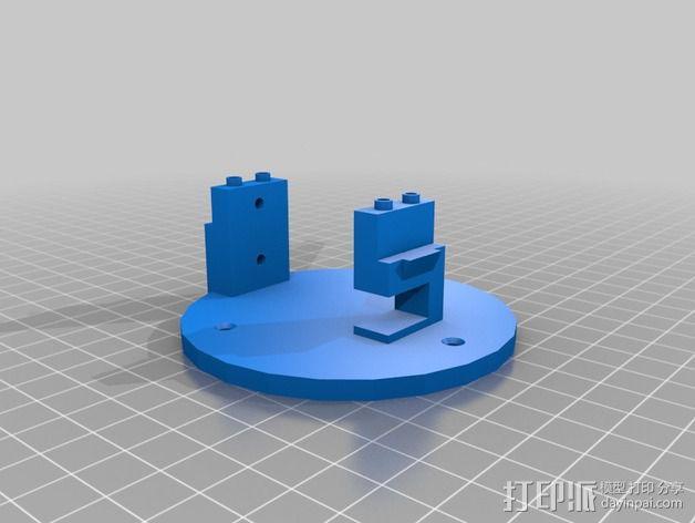机械臂 3D模型  图4