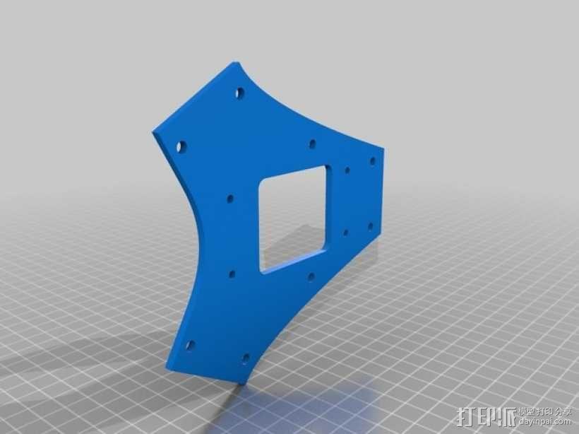 三轴飞行器框架 3D模型  图10