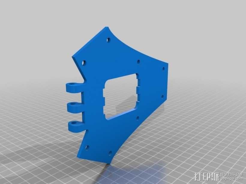 三轴飞行器框架 3D模型  图13