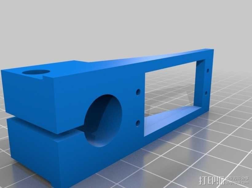 三轴飞行器框架 3D模型  图15