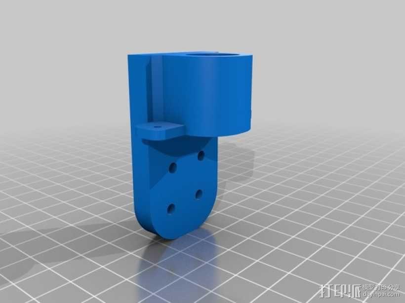 三轴飞行器框架 3D模型  图16