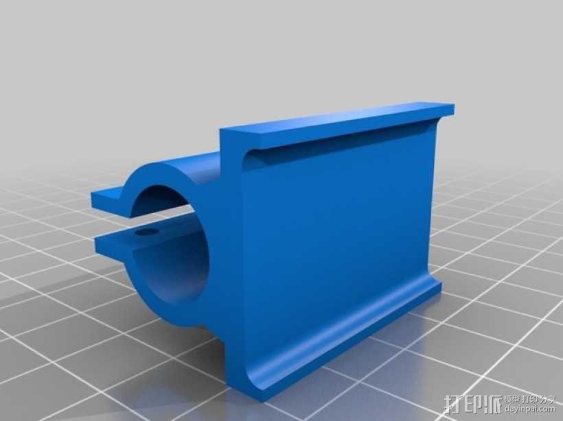三轴飞行器框架 3D模型  图18