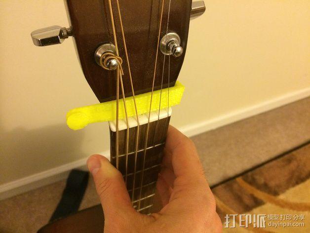 吉他背带夹 3D模型  图7