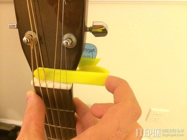 吉他背带夹 3D模型  图8