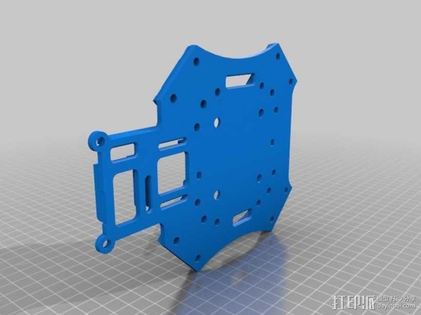 """""""鸽子二号""""四轴飞行器 3D模型  图5"""