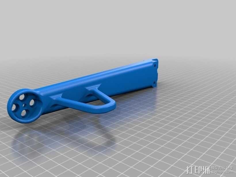 """""""鸽子二号""""四轴飞行器 3D模型  图4"""