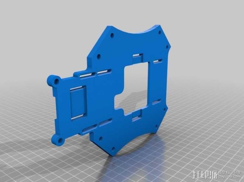 """""""鸽子二号""""四轴飞行器 3D模型  图6"""