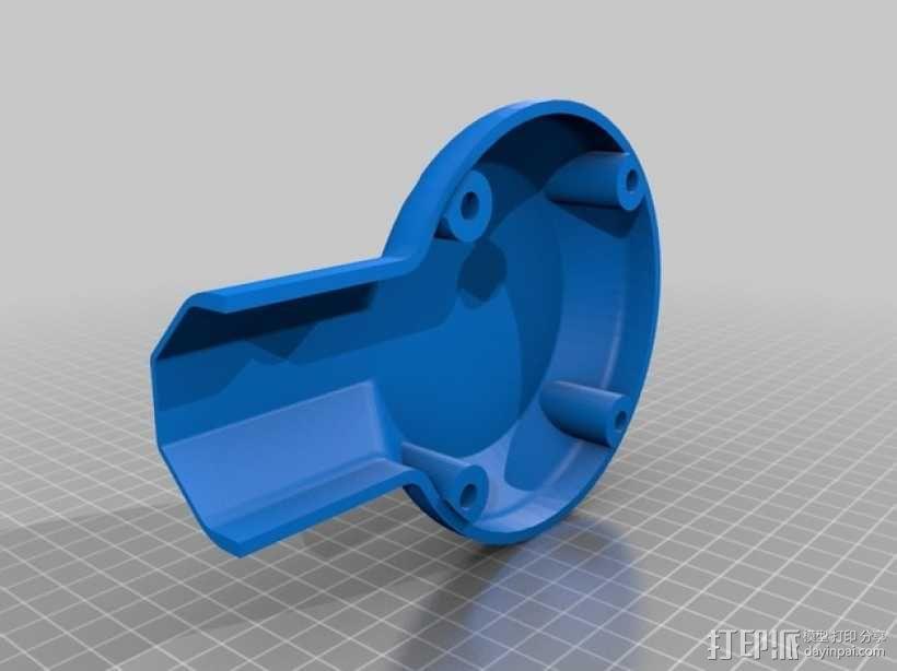 """""""鸽子二号""""四轴飞行器 3D模型  图7"""