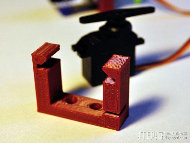 LittleBits伺服器支架 3D模型  图3
