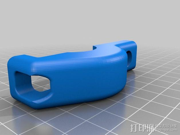 Magicshine 808自行车LED车头灯架 3D模型  图7
