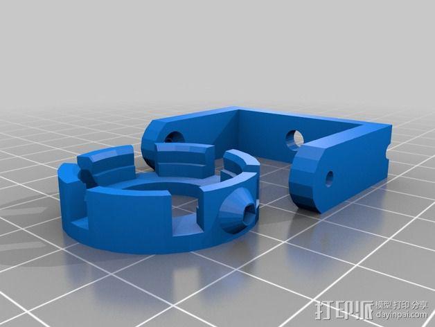 LED照明灯 支架 3D模型  图6