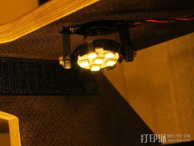 LED照明灯 支架 3D模型  图9