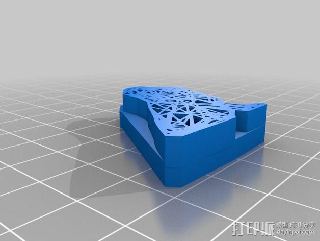 数字化动物邮票 3D模型  图7