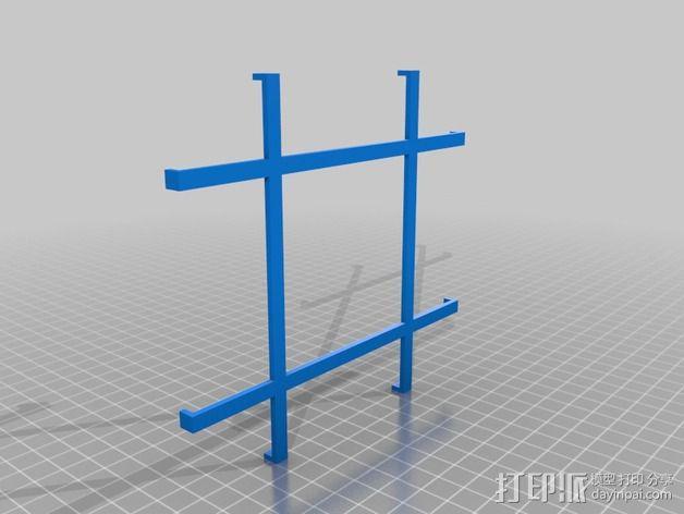 DIY磁力搅拌器 3D模型  图3